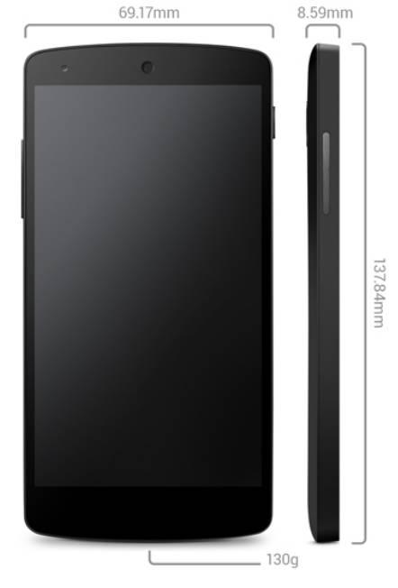 Nexus 5 tech specs