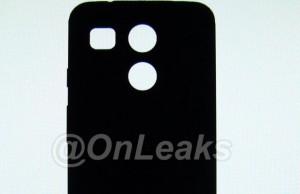 Nexus 5 2015 back cover