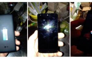 Leaked Nexus 5 photos