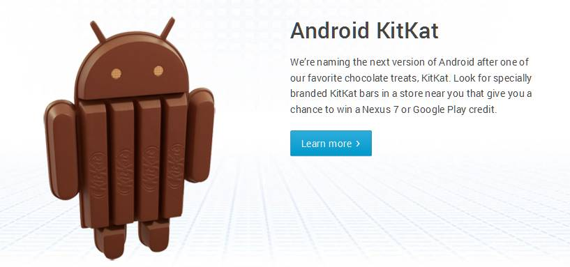 Android Kit kat info