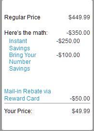 Nexus 5 savings