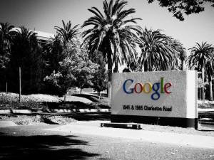 Google office sign