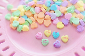 sweet candy conversation hearts for the nexus 5x
